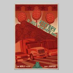 Videogame Vintage Posters Redesigned: Frogger