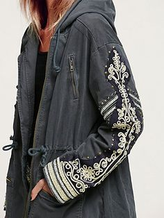 Golden Quills Military Parka -- just ordered this jacket and I am sooo excited. It's beautiful.