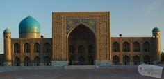 Usbekistan * Der Duft der Seidenstraße * - Samarkand Registan Samarkand, Places To See, Taj Mahal, To Go, Building, Travel, Europe, Photos, Asia