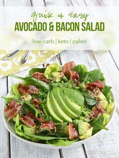 Easy Avocado Salad (low-carb, paleo, keto, AIP)
