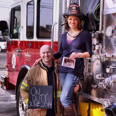 Firefighter baby ann