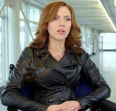 Get Captain America Civil War Natasha Romanoff Black Widow Jacket