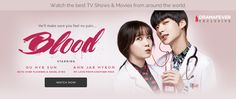 Watch on DramaFever |Blood - Vampire romance, hospital drama. I had my doubts, but it is actually pretty good. Not a boring episode yet.