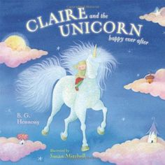Do you know a kid who is crazy for unicorns?  We are going to a birthday   party this weekend for a preschool friend of my four year old, and her mom   told me she is a big unicorn fan.  I have the perfect birthday gift for   her!     This is the story of Uni the Unicorn who believes with all her he