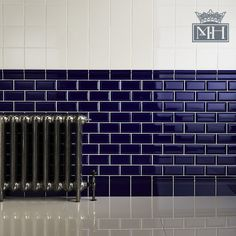 love love love beveled subway tile. Shown are from Minton Hollins  #tile #subway
