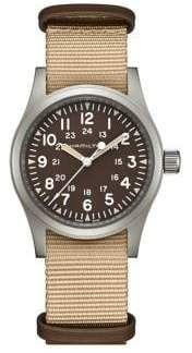 Looking for Hamilton Khaki Field Mechanical NATO Strap Watch, ? Check out our picks for the Hamilton Khaki Field Mechanical NATO Strap Watch, from the popular stores - all in one. Nato Armband, Cool Watches, Watches For Men, Bracelet Nato, Hamilton Khaki Navy, Best Sports Watch, Hamilton Jazzmaster, Field Watches, Nato Strap