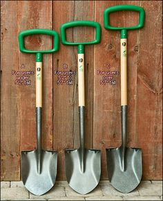 Green Heron Ergonomic Shovels Just For Women.
