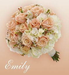 Emily: <span>A delicate bouquet of soft colors</span>