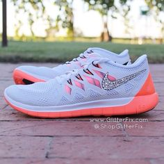 Simple Nike Frees Shoes are a must have for every active girl's wardrobe.--$66.00 #nike #shoes