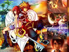 Sora and Kairi...Kingdom Hearts II