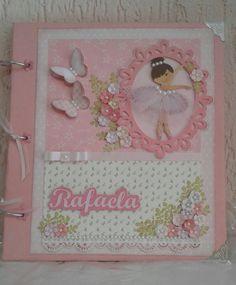 Álbum Scrapbook Bailarina Decorado