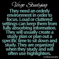 Virgo in Studying. This may explain my love of highlighters. at least 10 colors of highliters Virgo Traits, Gemini And Virgo, Virgo Women, Zodiac Signs Virgo, Virgo Horoscope, Horoscopes, Astrology Signs, Zodiac Facts, Aquarius