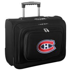 NHL Mojo Montreal Canadiens Wheeled Laptop Overnight Bag