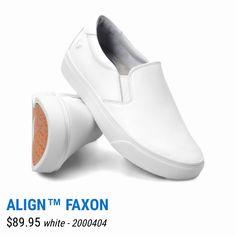 Nurse Mates White Leather Shoes 8.5 Size Men's Clothing