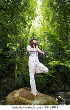 Find Female Meditating Tropical Rainforest Standing On stock images in HD and millions of other royalty-free stock photos, illustrations and vectors in the Shutterstock collection.