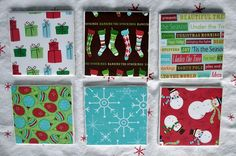 I LOVE, LOVE, LOVE THIS IDEA!!!!! So cute! DIY Christmas coasters