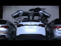 Tesla launches Tesla Model X SUV with Falcon Wing Doors