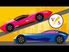Car Race Cars For Kids Videos For Children S Youtube
