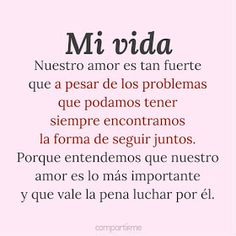 Positive Phrases, Positive Quotes, Couple Sketch, Cute Love Memes, Love Phrases, Foto Art, More Than Words, Spanish Quotes, Love Messages