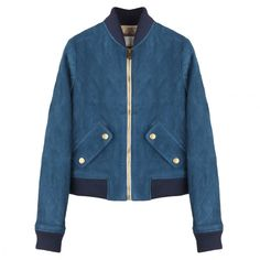 Shop Leather Jackets That Are Worth the Investment -- Blue Leather | Coveteur.com
