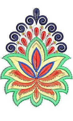 Saree Palaav | Patch Embroidery Design