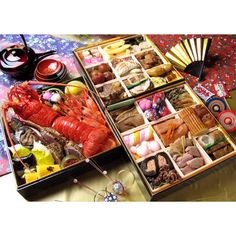 Japanese food call Osechi.