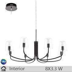 Lustra LED iluminat decorativ interior Eglo, gama Noventa, model  95006 http://www.etbm.ro/eglo