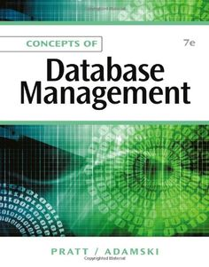 Find all textbook solutions from Concepts of Database Management editoin Philip J. Pratt, Joseph J. Management Company, Management Tips, Computer Technology, Computer Science, Cheap Used Books, Database Design, Deep Learning, Application Development, Books