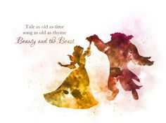 Belle Beauty and the Beast Ballroom Dance Quote 'Tale