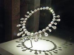 Marie Antoinette's Diamond Necklace at the National Museum of Natural History by EmpressM, via Flickr