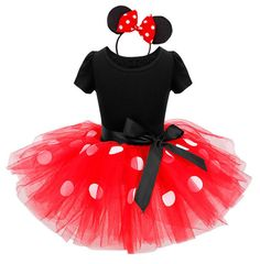 Cute Minnie Mouse Costume:  Price: $24.99 & FREE Worldwide Shipping.  Visit us and see our 300+ catalog.  We sell toys, materials and costumes with a learning purpose.  Your kids will thank you later!