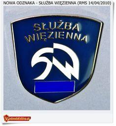 Służba Więzienna Nowy znak  - Logo. Odznaka