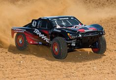 Traxxas Slash 4×4 Ultimate RC Car-Here is the cars my boys race.... they have different body styles tho :)