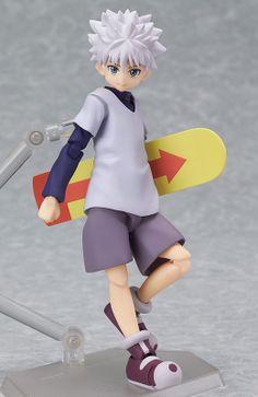 Hunter × Hunter figurine Figma Killua Zaoldyeck Max Factory
