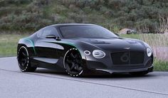 Bentley EXP 10 Speed 6 Black Edition Rendered as the 2018 Continental GT…