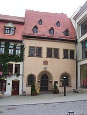 The house where Luther died