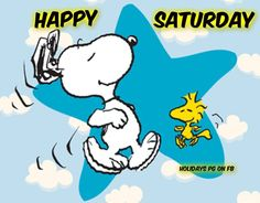 Snoopy Happy Saturday