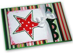 Cartão de Natal - DIY, Christmas, Craft, Upcycled
