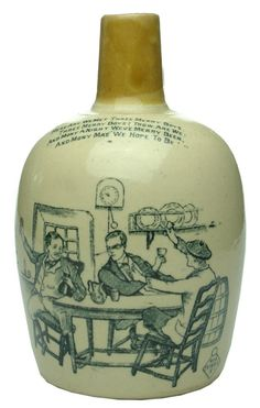 Auction 27 Preview   878   The Barley Bree Kennedy Glasgow Stone Whisky Jug