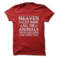 Heaven T Shirts, Hoodies. Check price ==► https://www.sunfrog.com/Pets/Heaven-61166498-Guys.html?41382 $21