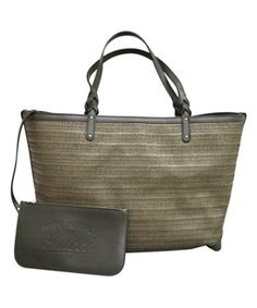 f200d7657135 Gucci Gucci Craft Large Green Straw Tote Bag Large Handbags