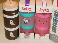 Mail4Rosey: Whiskware™ Portable Snack Containers are Cute Prac...