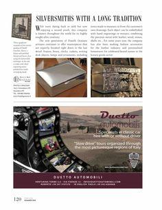 Pubblicazione sulla rivista Brand Italia. Hand Engraving, Italia