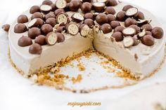 Tort lodowy Maltesers Malteser Cake, Muffins, Candy Shop, Tiramisu, Cheesecake, Sweets, Ice, Cakes, Muffin