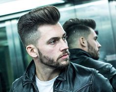 r.braid_and high fade and medium hair blown dry