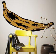 Adesivo de parede Banana, by I-Stick! www.istickonline.com