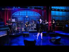Gossip - Move In The Right Direction - Live @ DavidLetterman