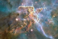 Foto's gemaakt door de Hubble-telescoop (© NASA/Reuters) Carinanevel.