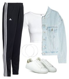 """#314"" by mintgreenb on Polyvore featuring Yeezy by Kanye West and adidas"