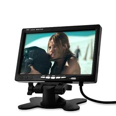 7 Inch LCD Headrest Car Monitor with RCA A/V IN